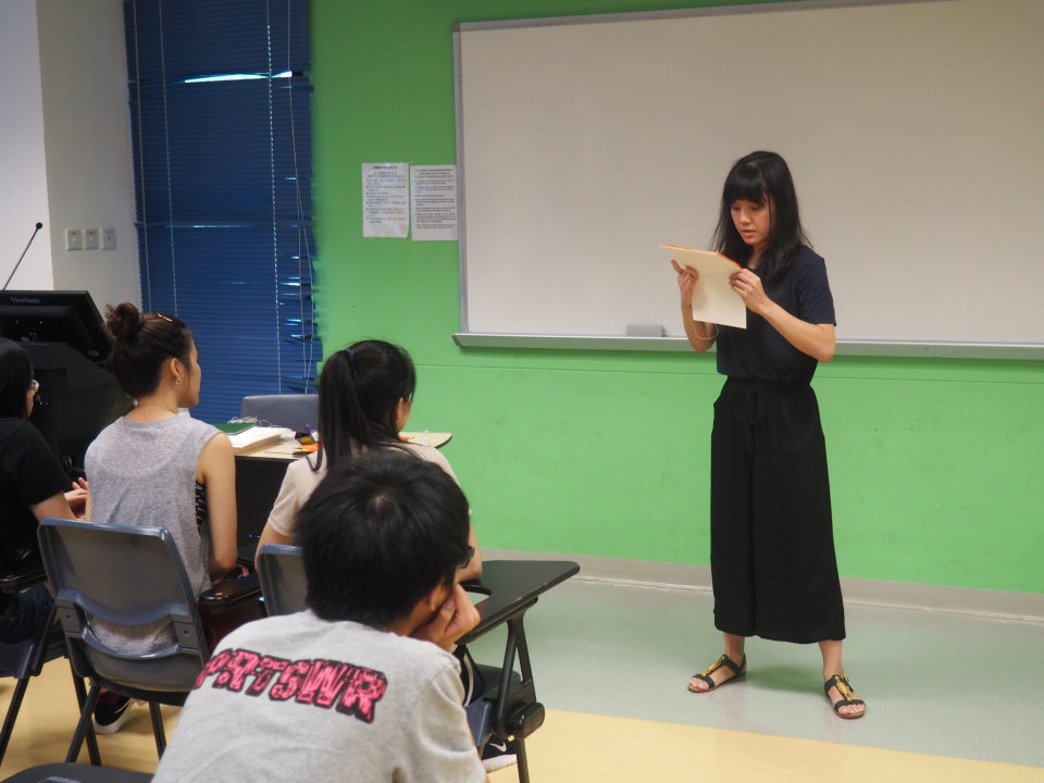 Lingnan University Orientation Bookbinding Workshop Image