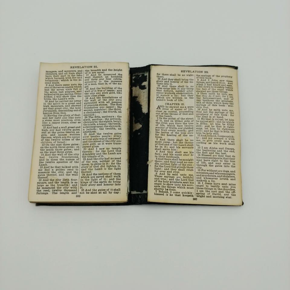 Bible Repair & 4 Flap Enclosure - Blog - Percy So